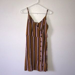 NWT multicolor striped dress